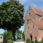 Kastanjetræerne ved kirken