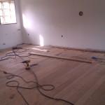 De gamle gulve i stuen