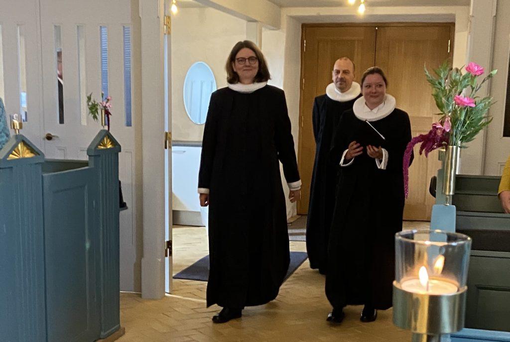 Indsættelse af Sofia Levring Dimitriou som præst i Mørke Kirke