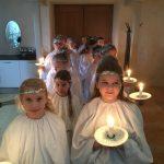 Lucia optog i Mørke Kirke